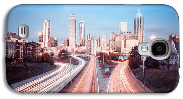 Downtown Galaxy S4 Case - Atlanta Skyline, Georgia, Usa by Nickolay Khoroshkov