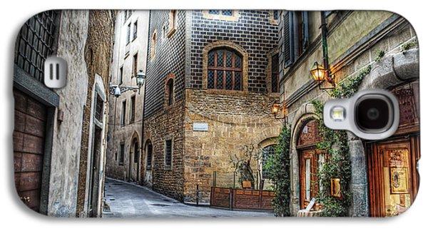 International Travel Galaxy S4 Case - Beautiful Narrow Street In Florence by Gabriele Maltinti