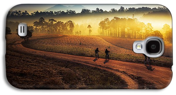 Travel Galaxy S4 Case - Beautiful Sunset Of Travel Place In by Travel Mania