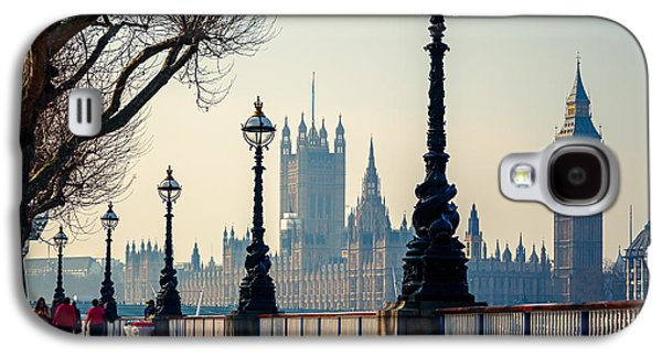 International Travel Galaxy S4 Case - Big Ben And Houses Of Parliament In by S.borisov