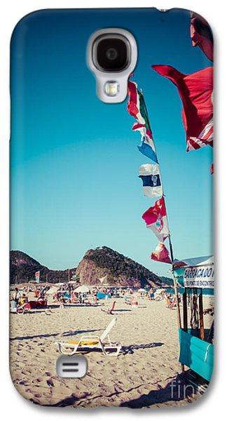 International Travel Galaxy S4 Case - Copacabana Beach In Rio De Janeiro by Curioso