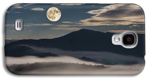 Dance Of Clouds And Moon Galaxy S4 Case