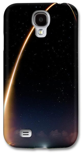 Galaxy S4 Case featuring the photograph Falcon 9 Rocket Launch Outer Space Image by Bill Swartwout Fine Art Photography