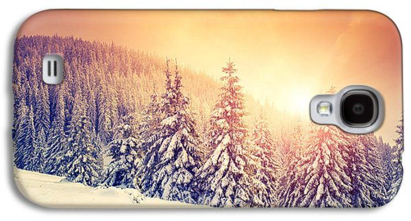 Travel Galaxy S4 Case - Fantastic Evening Landscape In A by Creative Travel Projects