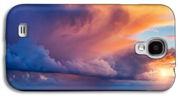 Travel Galaxy S4 Case - Fantastic View Of The Dark Overcast by Creative Travel Projects