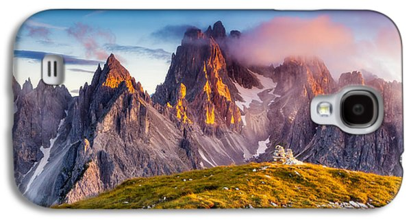 Travel Galaxy S4 Case - Great View Of The Top Cadini Di by Creative Travel Projects