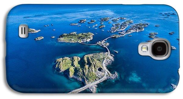 Town Galaxy S4 Case - Henningsvaer, Fishing Port On Lofoten by Harvepino