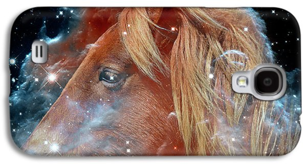 Galaxy S4 Case featuring the photograph Horsehead Nebula With Horse Head Outer Space Image by Bill Swartwout Fine Art Photography