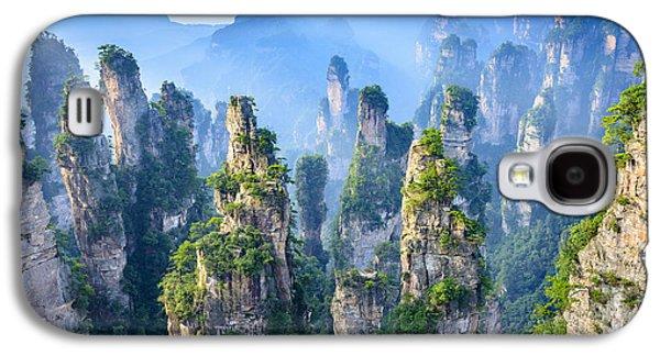 International Travel Galaxy S4 Case - Landscape Of Zhangjiajie. Taken From by Aphotostory