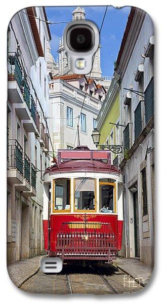 International Travel Galaxy S4 Case - Lisbon. Image Of Street Of Lisbon by Rudy Balasko