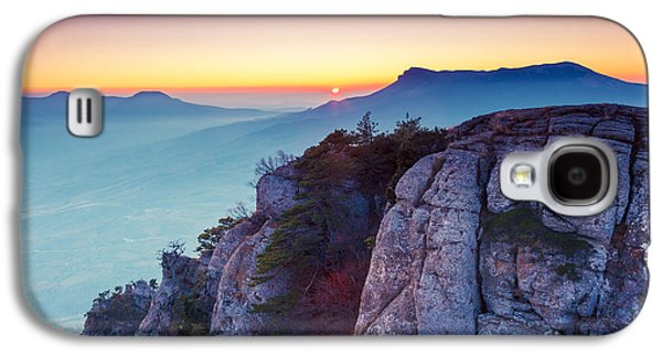Travel Galaxy S4 Case - Majestic Morning Mountain Landscape by Creative Travel Projects