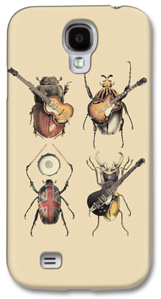 Rock And Roll Galaxy S4 Case - Meet The Beetles by Eric Fan