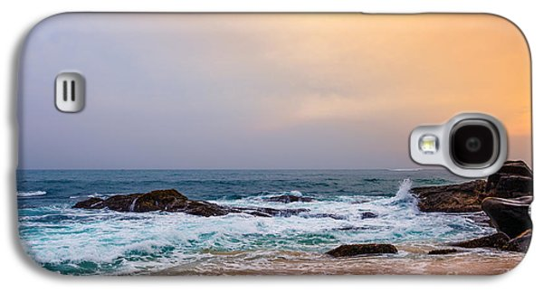 Travel Galaxy S4 Case - Palm Tropical Beach. Landscape Sunset by Travel Landscapes