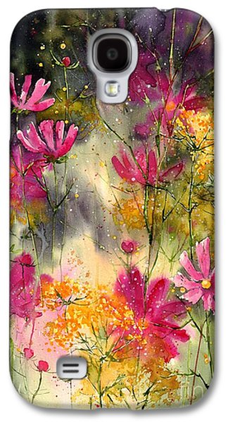 Orchid Galaxy S4 Case - Pink Ballerinas by Suzann's Art