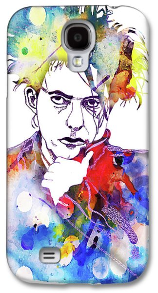 Robert Smith Music Galaxy S4 Case - Robert Smith 3 by Christine Perry