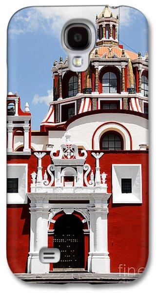 Town Galaxy S4 Case - Santo Domingo Church, Puebla Mexico by Alberto Loyo
