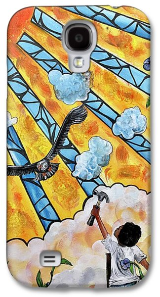 Galaxy S4 Case - Shattered Skies by Artist RiA