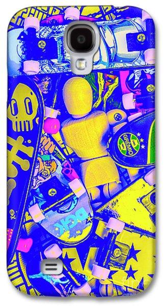 International Travel Galaxy S4 Case - Urban Skater Pileup  by Jorgo Photography - Wall Art Gallery