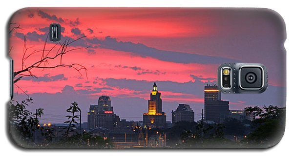 4th Of July Sunset Providence Ri Galaxy S5 Case by Butch Lombardi