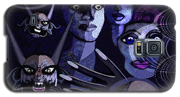060 -  Paranoia Blues ... Galaxy S5 Case by Irmgard Schoendorf Welch