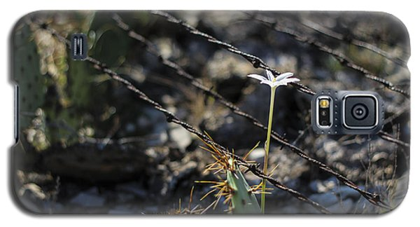 A Flower Among Thorns Galaxy S5 Case