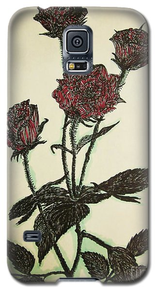 A Garden Rose Galaxy S5 Case
