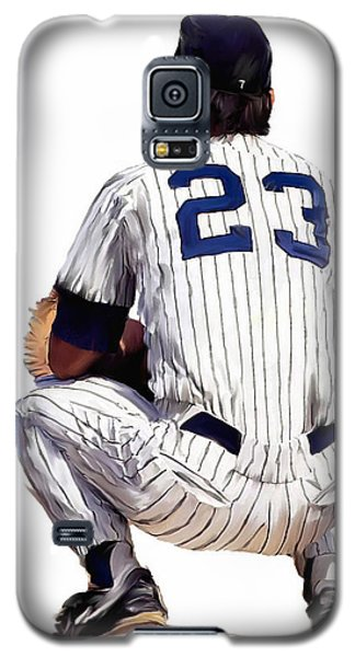 A Moment To Remember II Don Mattingly  Galaxy S5 Case by Iconic Images Art Gallery David Pucciarelli