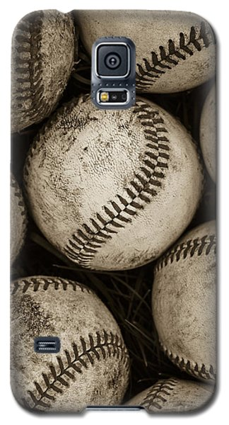 Baseballs Galaxy S5 Case by Diane Diederich