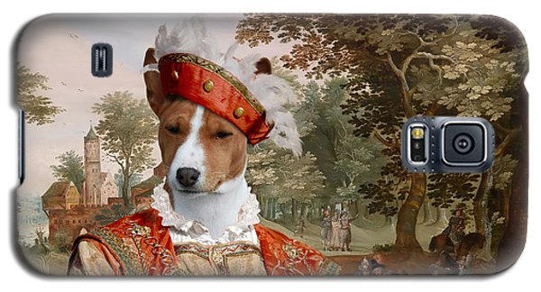 Basenji Art Canvas Print Galaxy S5 Case