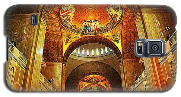 Galaxy S5 Case featuring the photograph  Basilica Of The National Shrine Of The Immaculate Conception by John S