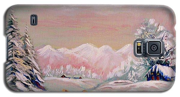 Beautiful Winter Fairytale Galaxy S5 Case