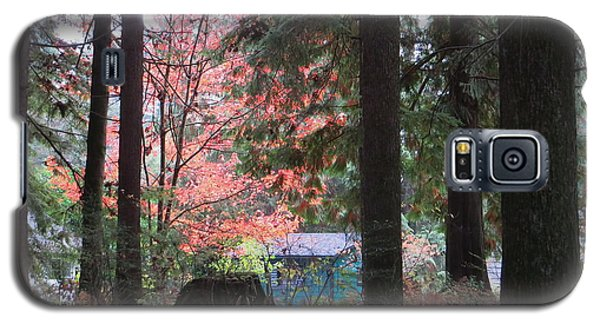 Beauty Through The Trees Galaxy S5 Case by Joyce Gebauer