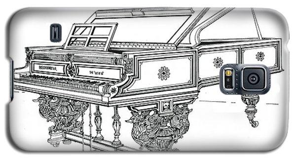 Bosendorfer Centennial Grand Piano Galaxy S5 Case by Ira Shander
