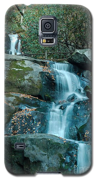 Galaxy S5 Case featuring the photograph  Bottom Of Laurel Falls by Patrick Shupert