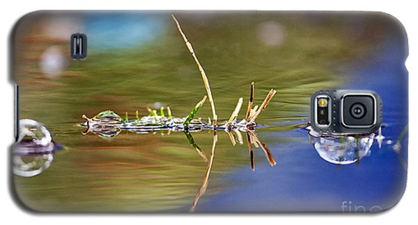 Bubbles In The Water Galaxy S5 Case