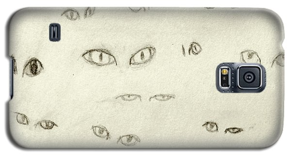 Cat Eyes - 1 Galaxy S5 Case