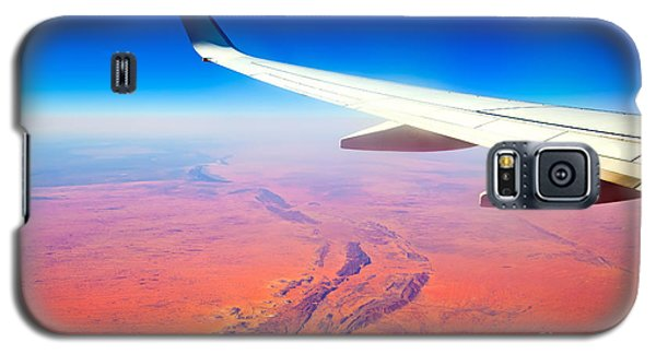 Central Australia From The Air  Galaxy S5 Case by Bill  Robinson