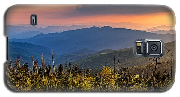 Clingmans Dome Sunset Galaxy S5 Case