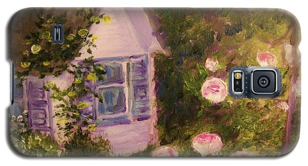 Cottage  In  The  Garden Galaxy S5 Case
