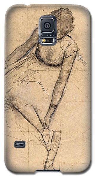 Dancer Adjusting Her Slipper Galaxy S5 Case
