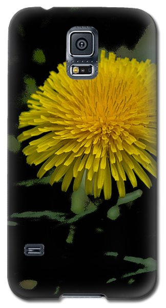 Galaxy S5 Case featuring the photograph  Dandelion  - Glspla529 by G L Sarti