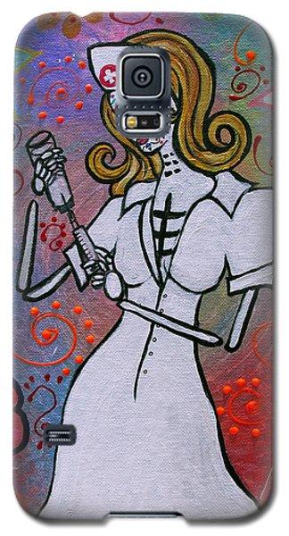 Dia De Los Muertos Nurse Galaxy S5 Case