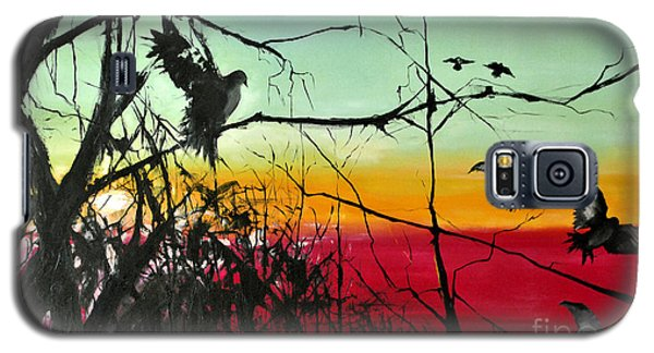 Doves At The Dawn Galaxy S5 Case