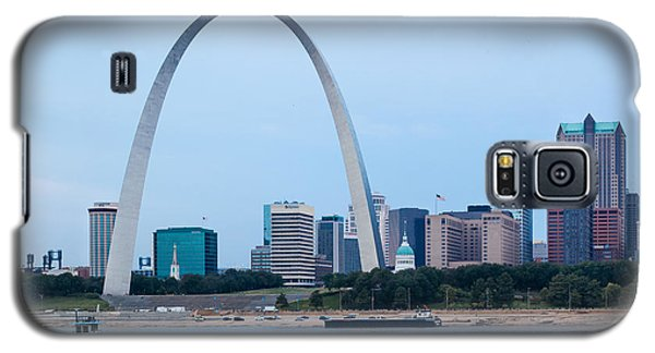 Downtown St Louis With Barge Galaxy S5 Case