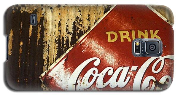 Drink Coca Cola  Memorbelia Galaxy S5 Case
