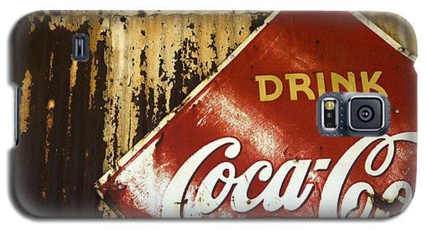 Drink Coca Cola  Memorbelia Galaxy S5 Case by Bob Christopher