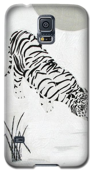 Galaxy S5 Case featuring the painting  Drinking By Moonlight by Stephanie Grant