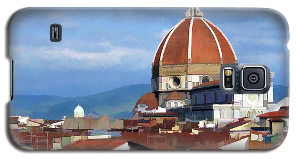 Galaxy S5 Case featuring the photograph  Duomo Of Florence # 3 by Allen Beatty