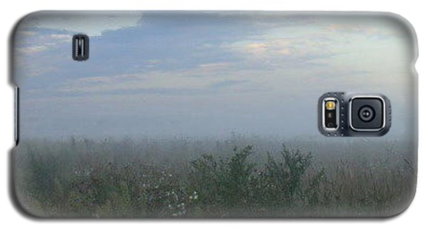 Galaxy S5 Case featuring the photograph  Endless Wild Field by Mikhail Savchenko