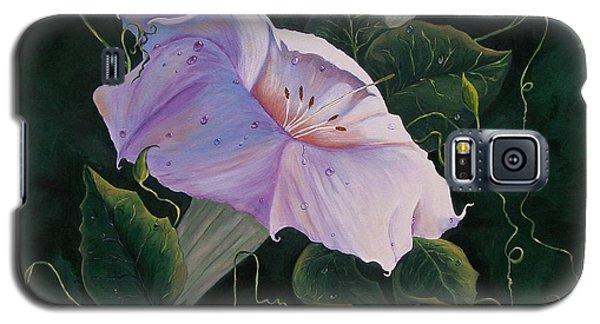 First  Trumpet Flower  Of Summer Galaxy S5 Case